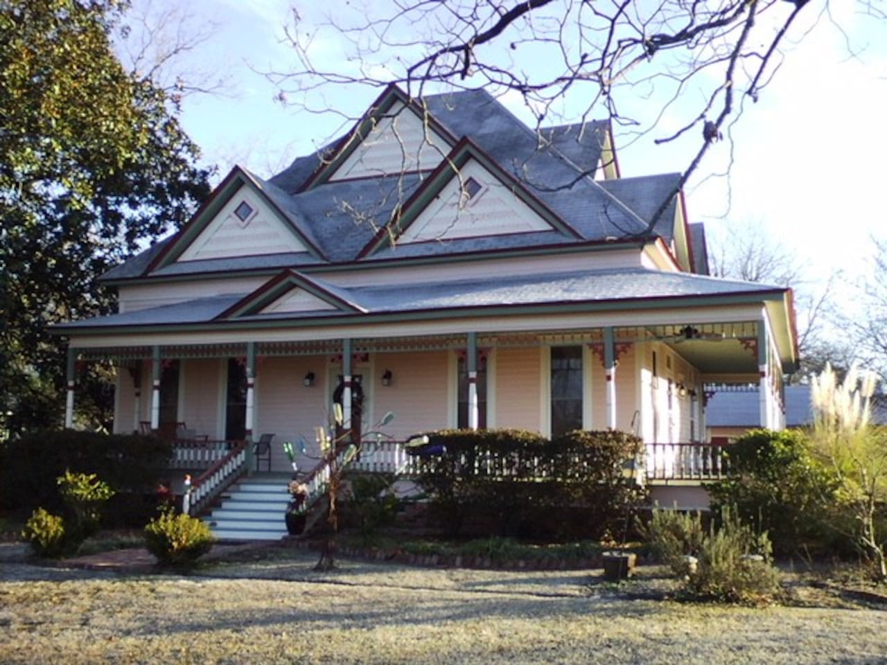 The Barwick-Dudley House, a 130 year old Folk Victorian listed on the National Register of Historic Places.