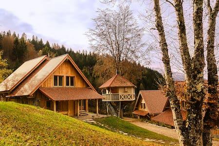 DOLOMITI VILLAGE - Povolaro - Haus