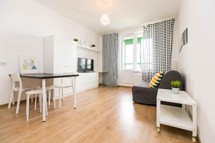 Апартаменты чистоты и комфорта в новом районе.