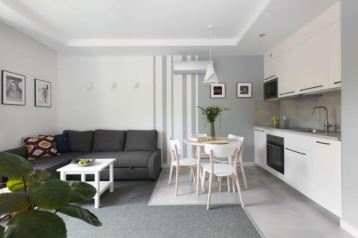 Klimatyzowany apartament w Gdańsku