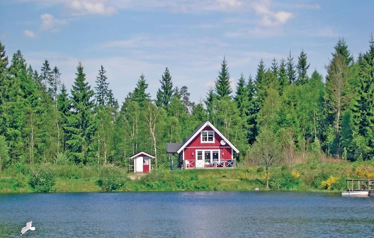 Holiday cottage with 3 bedrooms on 70 m² in Långaryd