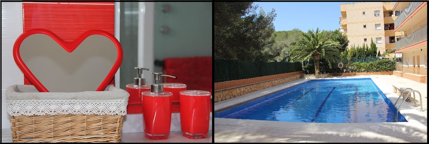 4p. Great views/quiet nights- Beach&PortAventura - La Pineda - Leilighet
