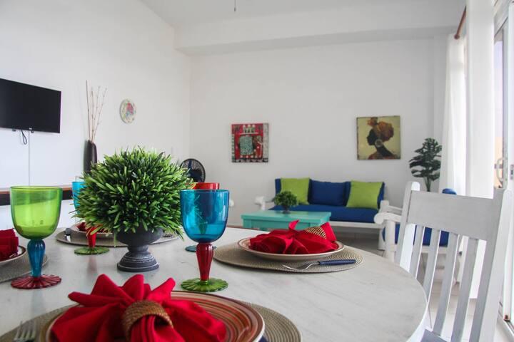 Apartamento de Playa Porto fino/ vista al mar (01)