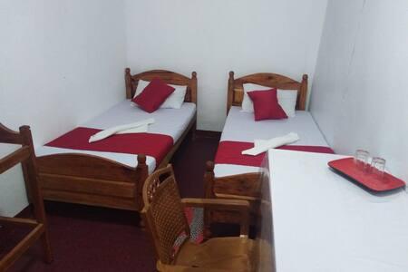 beds in comfort room