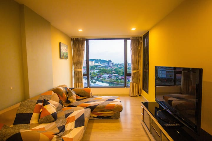 [Promo] Sky Garden Unit with pool for 6 pax