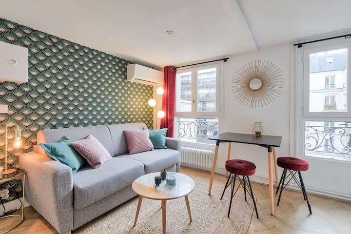 Superbe studio d'architecte au calme et cosy