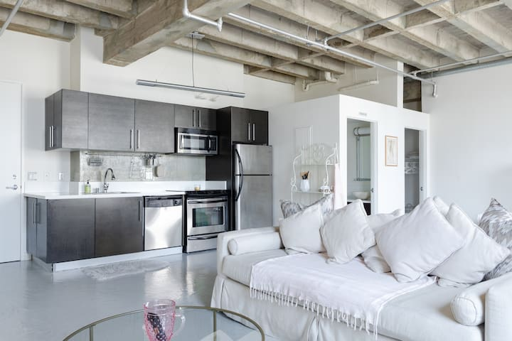 Entire Luxury Loft in DTLA w rooftop pool/hot tub