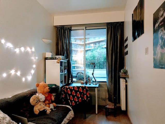 Studio pour 1 (ou 2) à Neuilly-sur-Seine - Neuilly-sur-Seine - Appartement