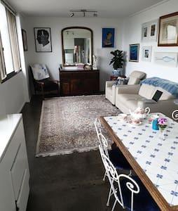 Beautiful, light one bedroom with ocean views