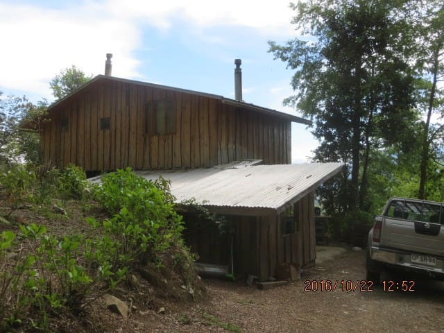 2 bedrooms, fully equipped cabin at 550 m altitude - Pucón - Zomerhuis/Cottage