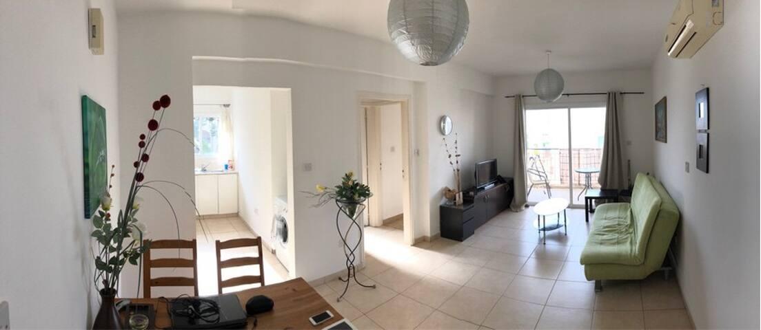 Односпальная квартира в Пафосе