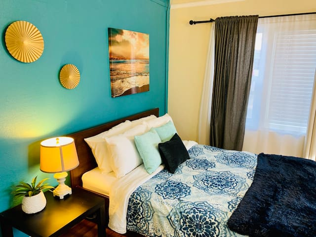 True ❤️ blue suite @ downtown San Diego