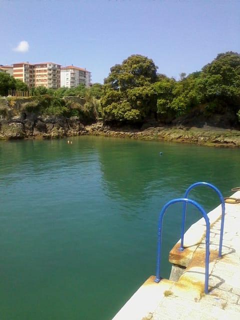 Beautiful views to the Port of Mundaka