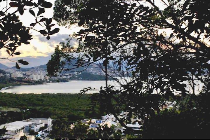 Fuja estresse Chalé Romântico , Montanha, Mar paz