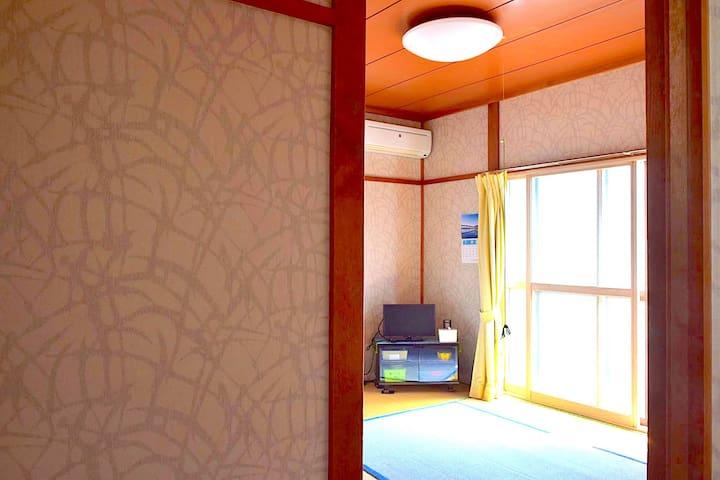 Minpaku Kudo Room No.7- 10min to Aomori Sta