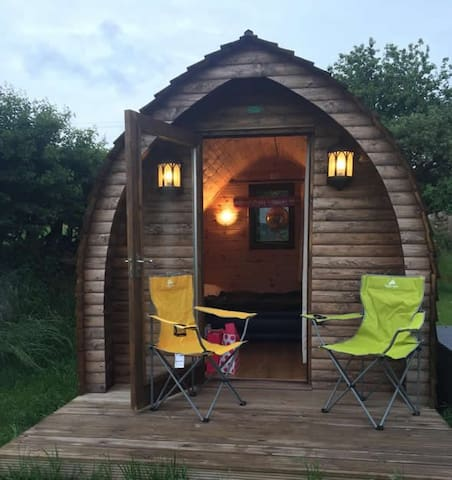 Mains Farm Camping pods - No 2
