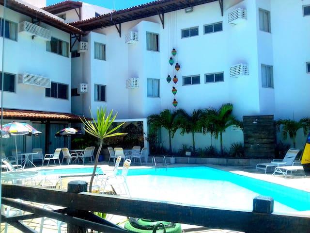Quarto no Hotel Costeiro Olinda - Bairro Novo - Autre