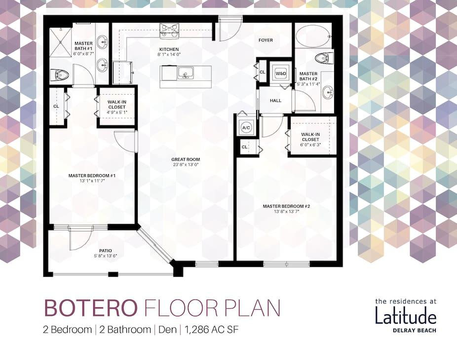 Botero Floor Plan