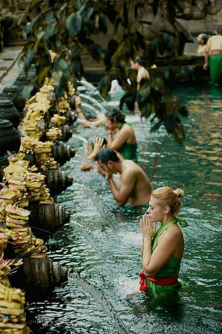 Holy Water/Tirta Empul Temple