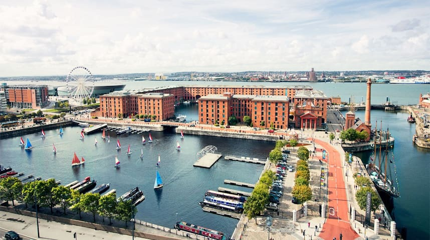 2 mins from Echo Arena & Albert Dock-Free Parking! - Liverpool - Byt