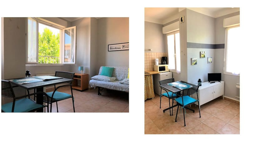 Studio (4e) Toulon Mourillon Plage 300m
