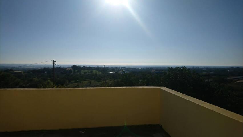 Schönes Studio mit  Meerblick in der Algarve.