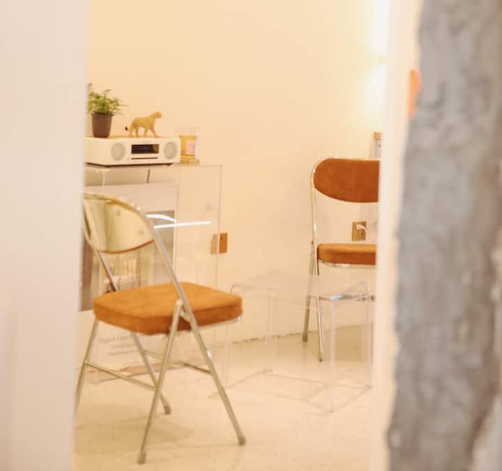 【Thankyou6】家庭房 咖啡店+民宿 冰雪大世界和中央大街中间 美食商圈环绕 把梦想过成日子