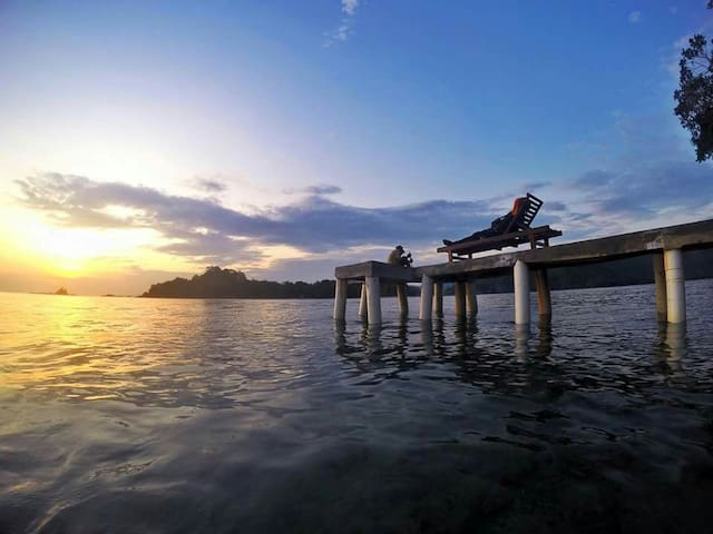 Kiluan Dolphin - Tanjung Karang - Haus