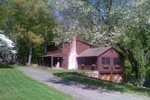 Front view of the Huckleberry House
