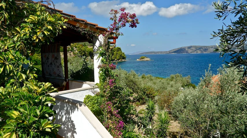 Flower Houses Alonissos - Steni Vala - Rumah