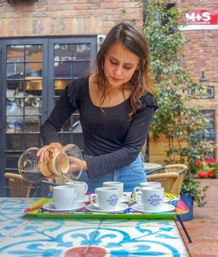 Sample Colombian coffee