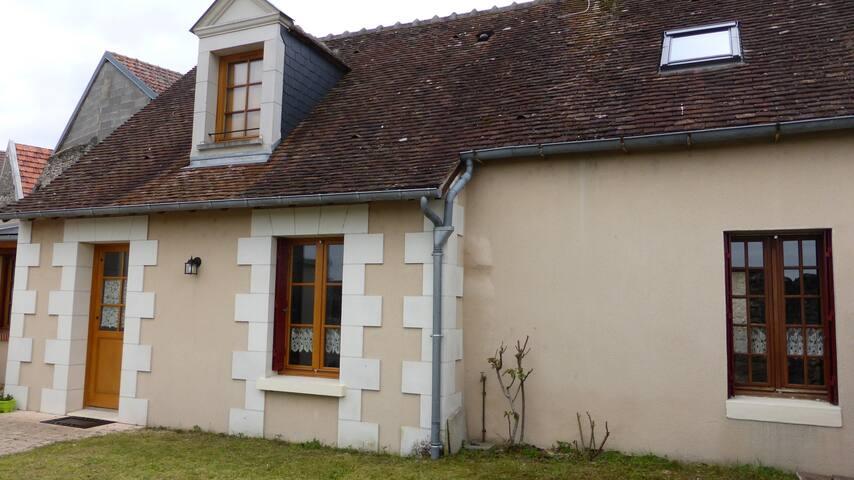 charmante maison vue sur le Cher - Selles-sur-Cher