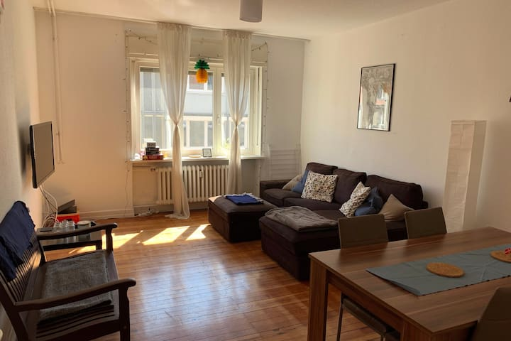 Spacious Apartment in Nauwieser Viertel