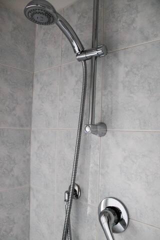 Il saliscendi della doccia