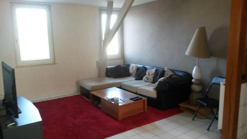 Bel appartement chaleureux - Le Tréport - Apartament
