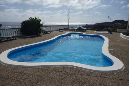 Finca Del Mar Naturist Complex, direkt am Meer - Charco del Palo