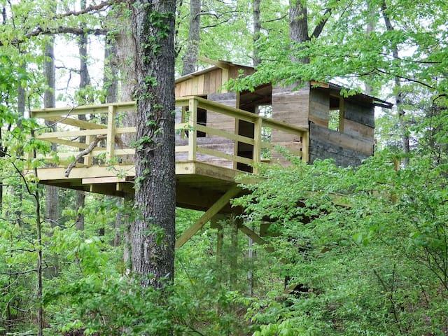 Cozy Cool treehouse near KY lake & LBL