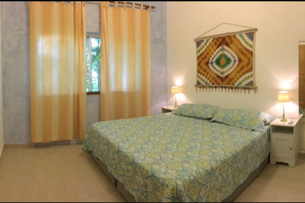 Habitación#1 patronal cama King