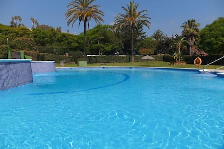 Apart. 30 metres from the beach - Estepona