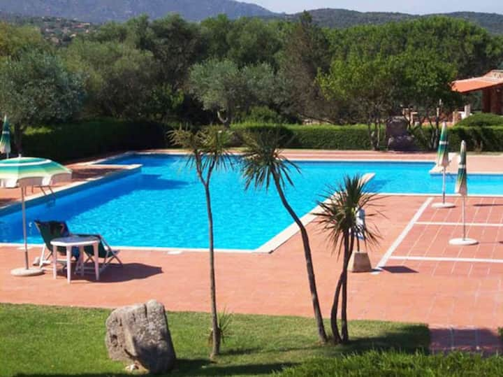 Apartment 'Trilocale H1' with Pool, Tennis Court, Balcony & Air Conditioning; Parking Available
