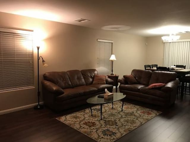 1st Floor living room / dining room