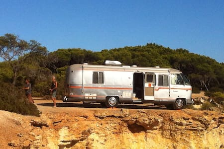 Vintage Airstream Ibiza - Ibiza - Karavan