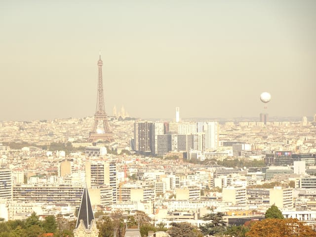 Hills of Paris - Penthouse between Paris & forest