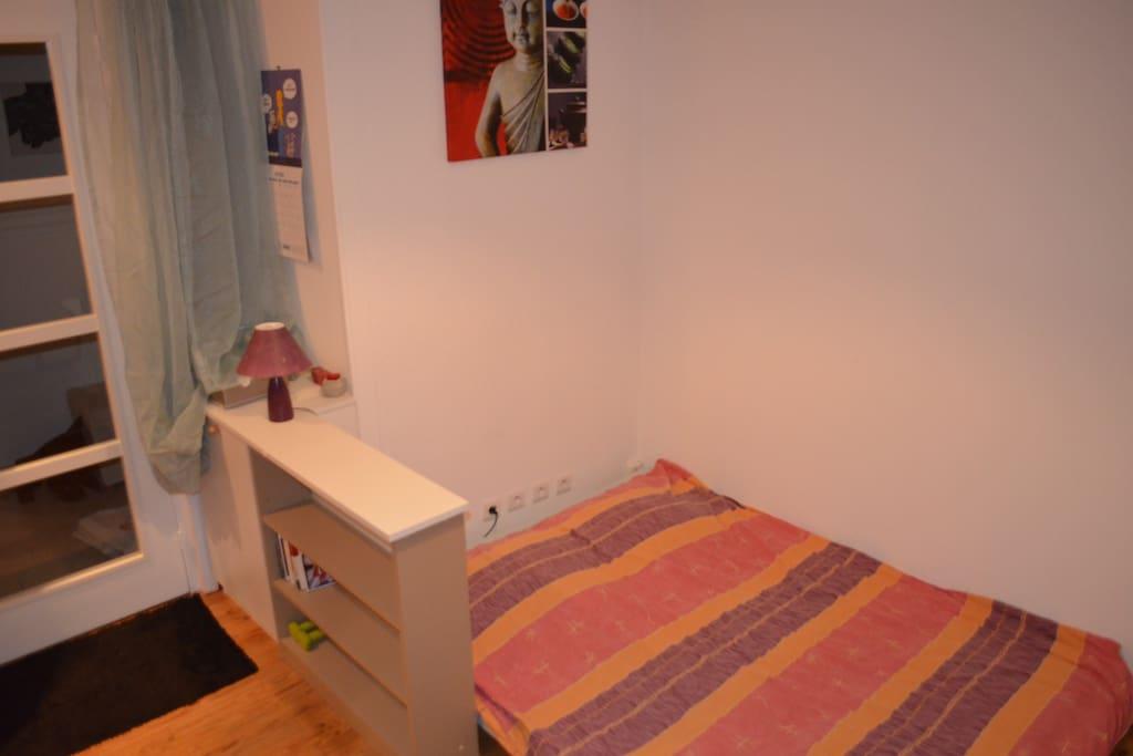 Petite chambre proche parc mistral appartements louer for Appartement meuble grenoble louer