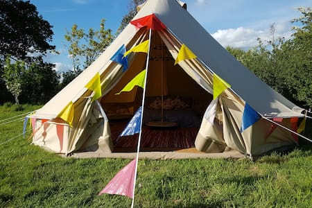 Bella our bell tent - East Sussex