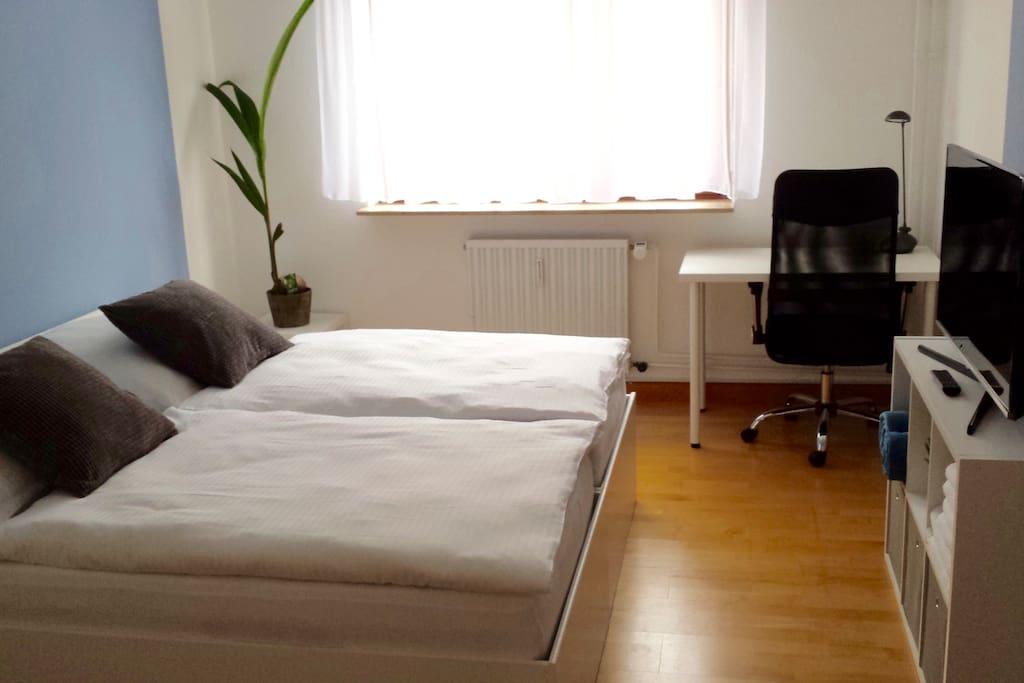 Gästezimmer - Doppelbett