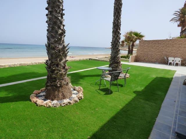 Beach front Cabo de la Huerta