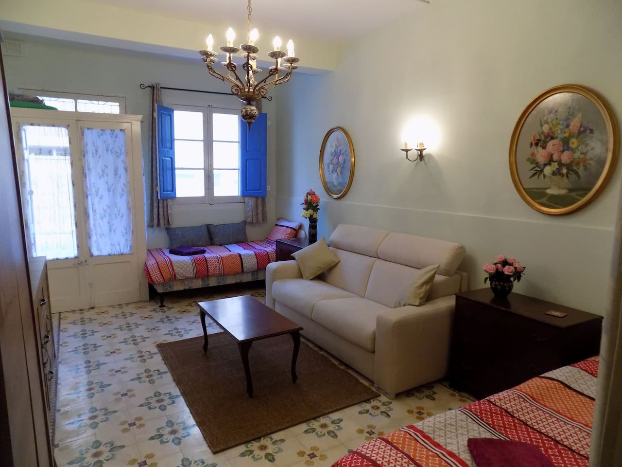 Newly decorated, refurbished and comfortable front room