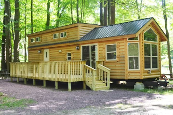 Wooded Rental W34 @ The Great Divide Campground