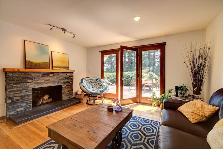 Central Sammamish Home With Private Setting